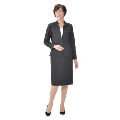 東京ソワール ウール混スタイリッシュスーツ