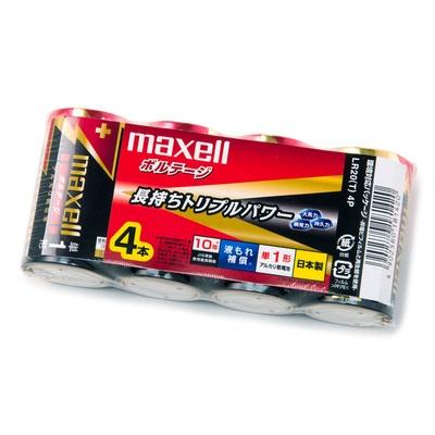アルカリ乾電池「ボルテージ」 単1形 [4本パック]