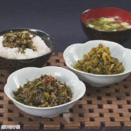 奥信濃 味麓庵 野沢菜 2種計6本セット