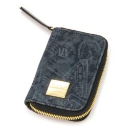 ALV パスポートデニム ラウンドファスナー キーケース