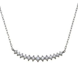 PT カナディアンダイヤモンド ネックレス 計0.18ctUP