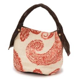 アートギャラリー パラメシウム 編み手バッグ