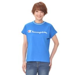 チャンピオン ラインリブプリントTシャツ