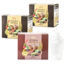 ZEN49+PREMIUMダイエット禅食選べる3箱[90包]