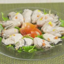 広島産ふっくら蒸し牡蠣 無選別1kg