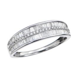 18KWG ダイヤモンド リング 計0.50ctUP