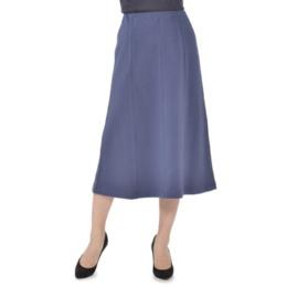 オーガニックコットン/オーガニックウール8枚剥ぎAラインスカート