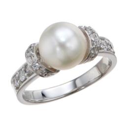 la.vex カラーストーン あこや真珠デザインリング