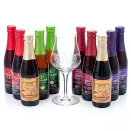 リンデマンスフルーツビール特別セット[グラス付][発泡酒]