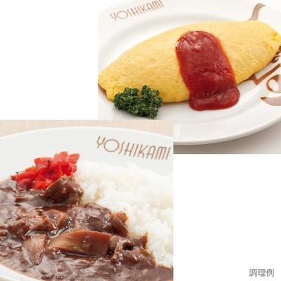 浅草ヨシカミハヤシライスの具6食オムライス4食計10食