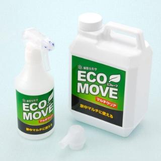 掃除も除菌も2度拭きいらず!エコムーブマルチクリア