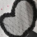 &LOVE Happy アニバーサリーTシャツ/杢グレー
