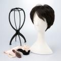 KNTファッションウィッグ ウェーブショートスタイル/ブラック