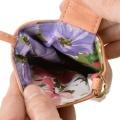 モモコキクチ 花柄刺繍 ハンドバッグ/ピンク