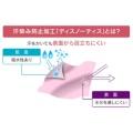 UV&汗染み防止 コットンフロントギャザー長袖チュニック/杢グレー
