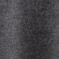 圧縮ウール 配色ステッチ エレガンス パーカー/メランジグレイ