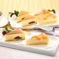 粒あんとクリームチーズのケーキ&ピーチレアチーズケーキ各4個