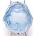 IM リバティプリント 多機能バッグインバッグ/小花 ライトブルー