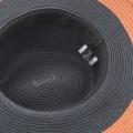 MALIANI フローラルレース装飾の帽子/ネイビー