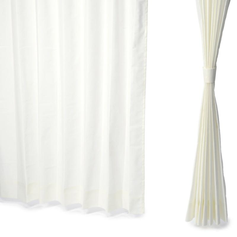 見えにくい遮熱レースカーテン高級仕様100cm2枚組