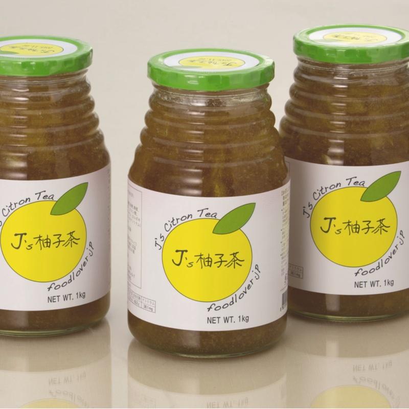 プロが選んだJ's柚子茶 3本セット《新柚子》