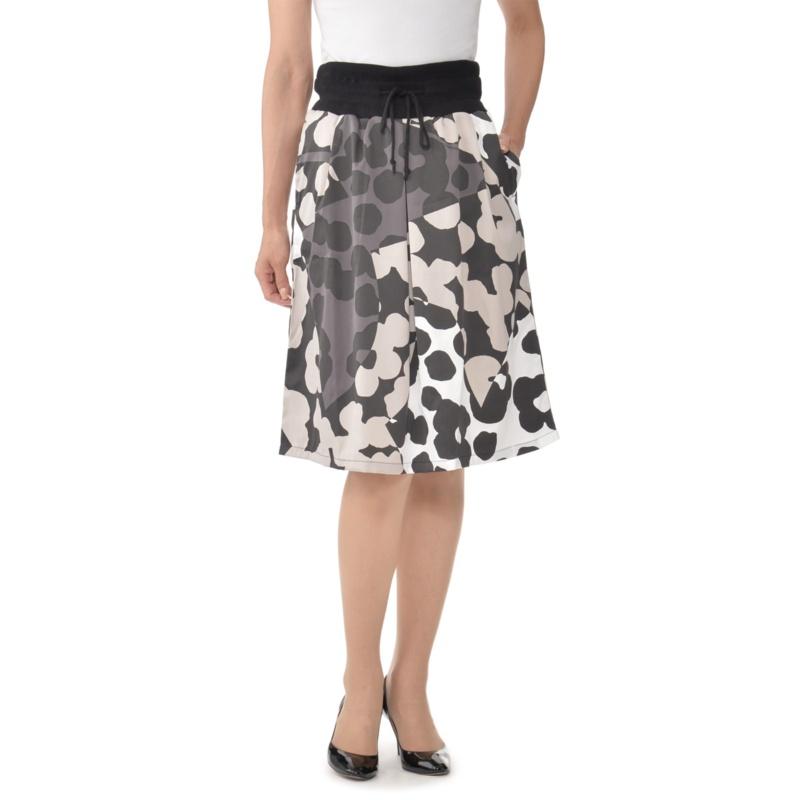 SUPERLADY ランダムドットプリントスカート