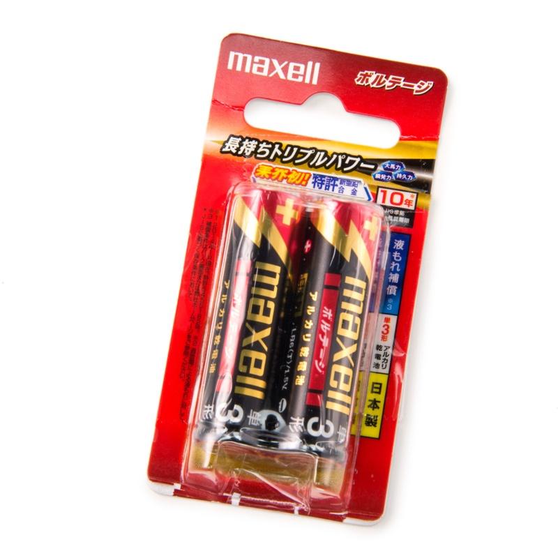 アルカリ乾電池「ボルテージ」 単3形 [2本パック]