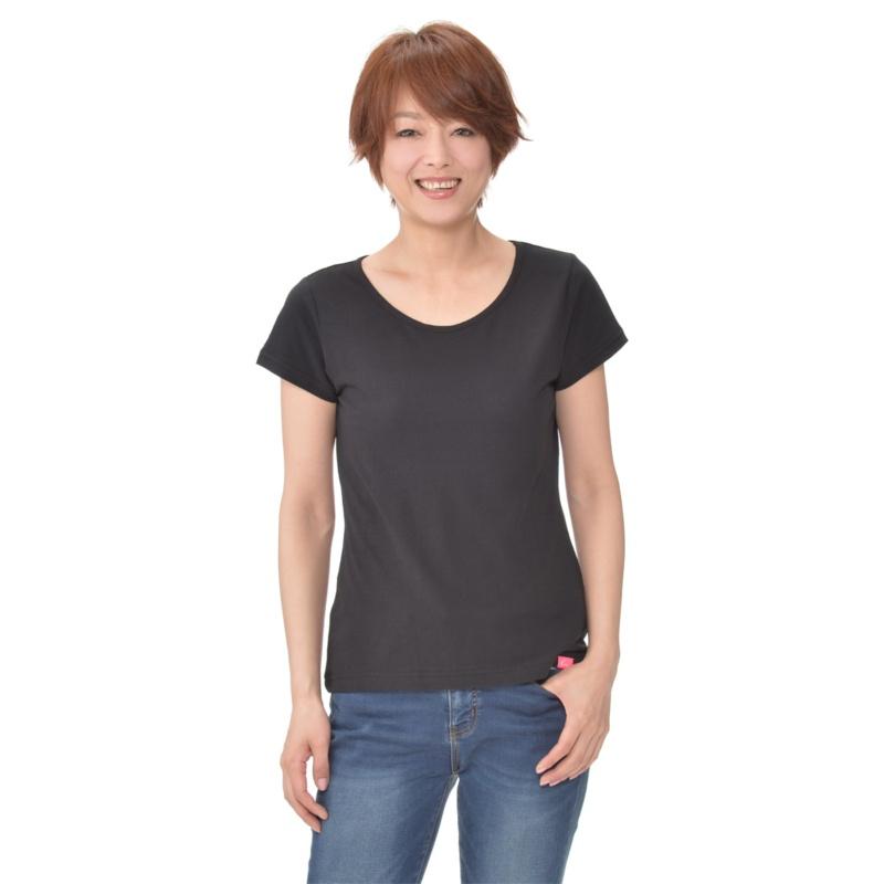 KiKKi コットンコンパクトTシャツ