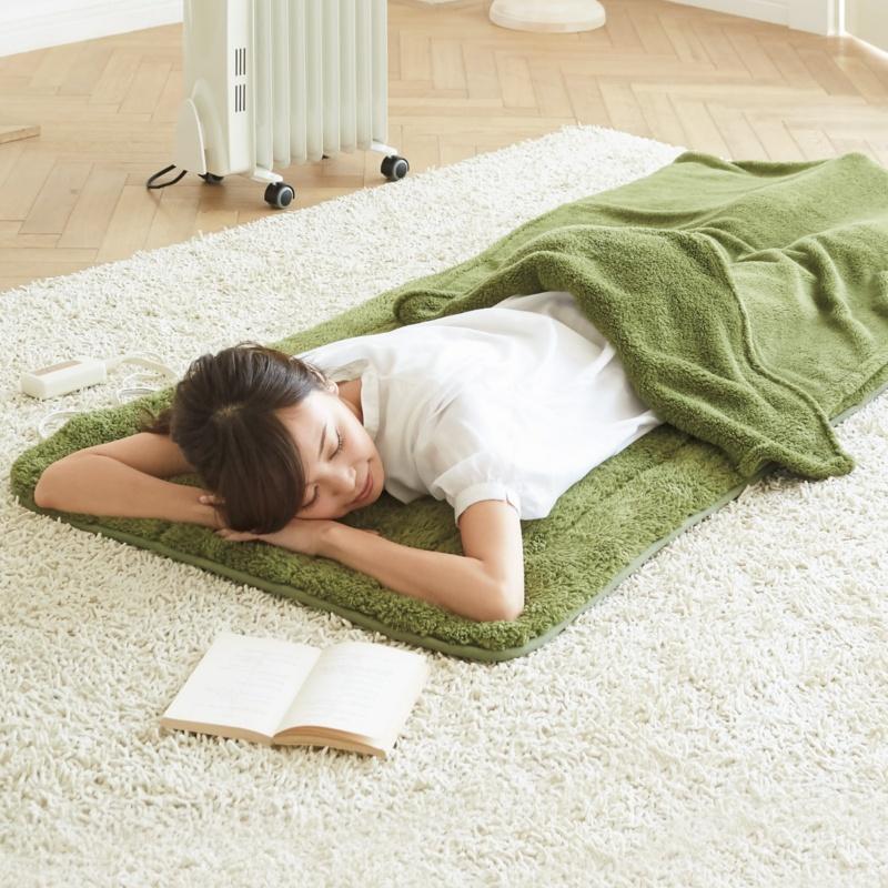 丸ごと洗える寝ころび電気マットらく寝ぼう